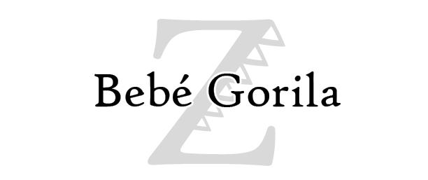 Bebé Gorila